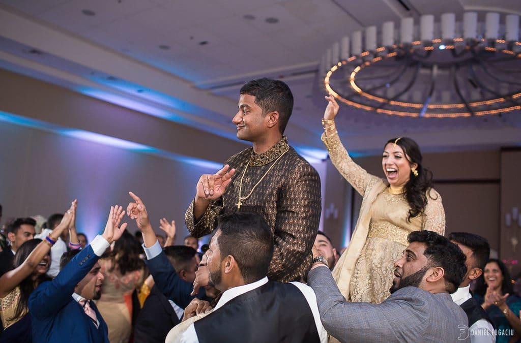 Solomon and Neena rock their Philadelphia Marriott wedding