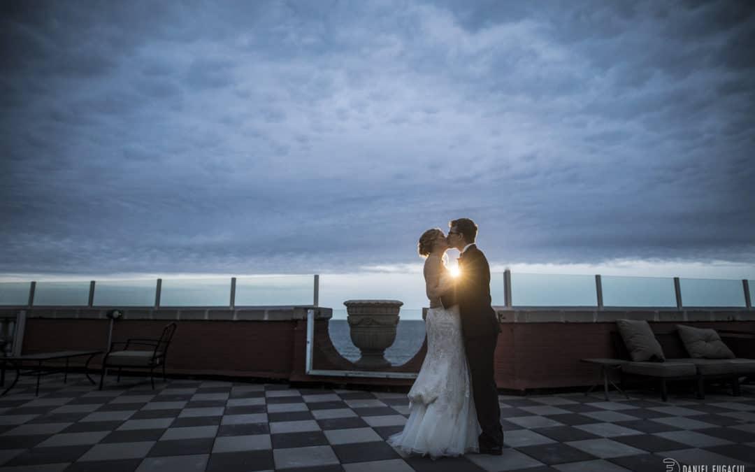 James and Stacey's Berkeley Oceanfront Hotel Wedding