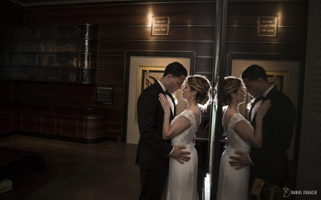 American Swedish Historical Museum wedding | Erin and Kael