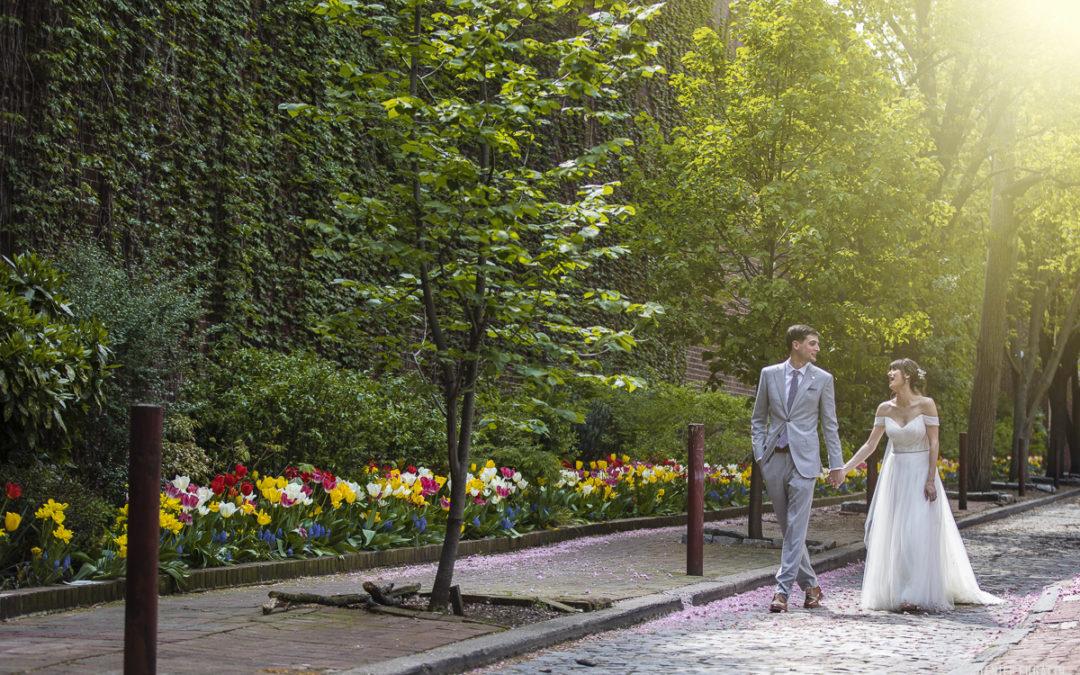 Material Culture wedding   Leda and Bill