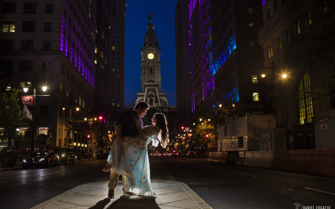 Genna and Matthew's Engagement at Elfreth's Alley