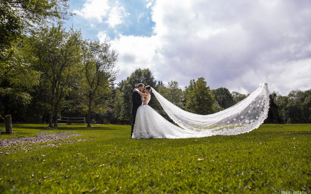 Cescaphe ballroom wedding | Sabina and Michael