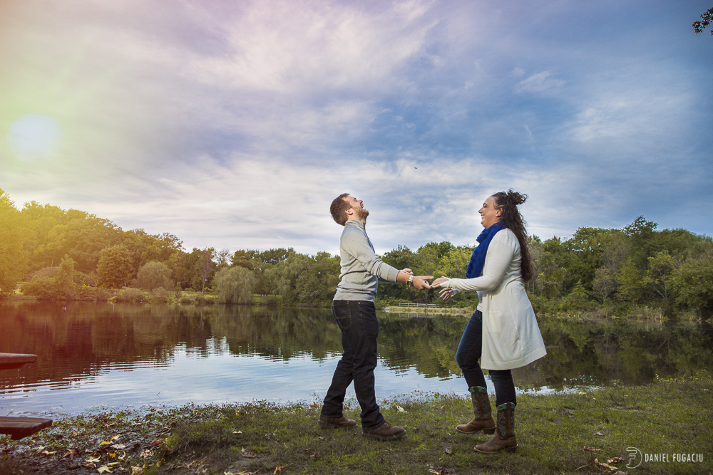 Bellevue State Park Engagement photos with Katie and Keith