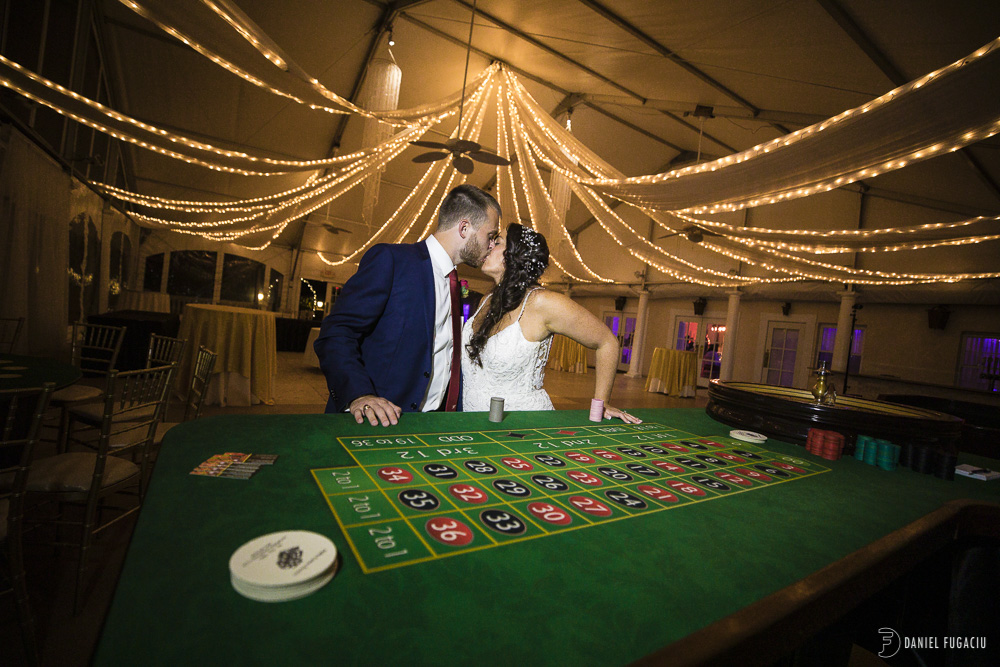 casino games bride and groom